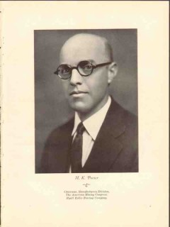 h k porter 1928 american mining congrese photogravure print