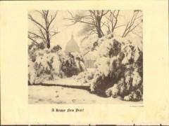 happy new year 1928 ernest crandall washington dc photogravure