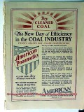 american coal cleaning corp 1928 mining pneumatic dry clean vintage ad