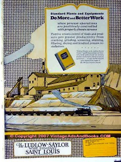 ludlow-saylor wire company 1928 better work mine equipment vintage ad