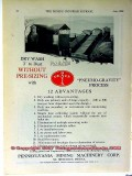 pennsylvania mining machinery corp 1928 coal mine equipment vintage ad