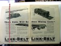link-belt company 1928 these units will reduce mining costs vintage ad