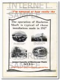 american rheolaveur corp 1928 easy handled that feed mining vintage ad