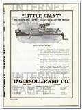ingersoll-rand 1910 little giant rock tappet valve drill vintage ad