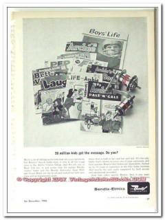 bendix corporation 1963 20 million kids get the message vintage ad