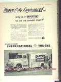 International Harvester 1951 Vintage Ad Ice Cream Trucks Sealtest