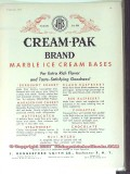 J Hungerford Smith Company 1951 Vintage Ad Ice Cream Pak Brand JHS