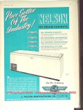 C Nelson Mfg Company 1951 Vintage Ad Ice Cream Cabinets Pace Setter