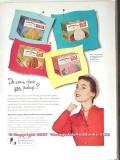 Container Corp America 1951 Vintage Ad Ice Cream Carton Arrowhead