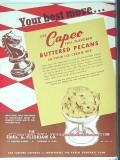 Charles A Peterson Company 1951 Vintage Ad Ice Cream Pecans Capco