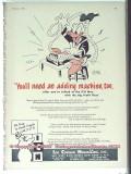 Ice Cream Novelties Inc 1951 Vintage Ad Disney Donald Duck ICN Adding
