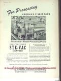 Chester-Jensen Company 1951 Vintage Ad Ice Cream Hershey Creamery