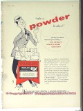 American Food Laboratories 1951 Vintage Ad Ice Cream Vanilla Powder