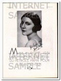 petrole hahn 1931 french miss europe jeanne juilla hair oil vintage ad