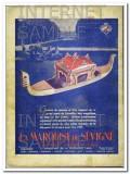 marquise de sevigne 1938 gondola chocolate candy confection vintage ad