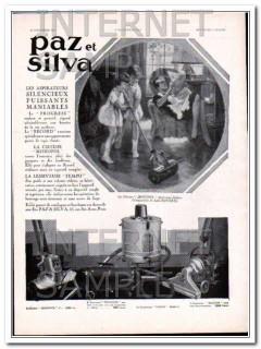 paz and silva 1930 monopol progress record vacuum cleaner vintage ad