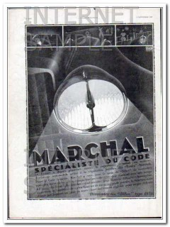 marchal 1930 by jean jacquelin french art deco car fog lamp vintage ad