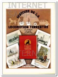 history of terrestrial locomotion 1936 cycle car book vintage ad
