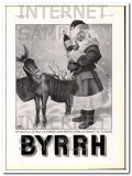 byrrh 1936 by georges leonnec french santa claus wine vintage ad