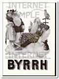 byrrh 1937 christmas santa happiness health french wine vintage ad