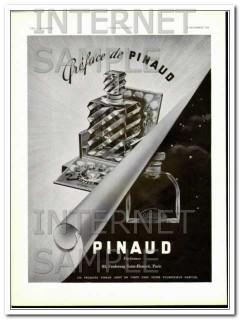 pinaud parfumeur 1938 french perfume preface opera art deco vintage ad