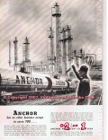 Anchor Petroleum Company 1955 Vintage Ad Serve You Gas Oil Diesel Fuel