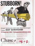 Chase Brass Copper Company 1955 Vintage Ad Oil Heat Exchanger Stubborn