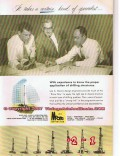 Lee C Moore Corp 1955 Vintage Ad Oilfield Drilling Structure Engineers