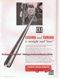 Colorado Fuel Iron Corp 1955 Vintage Ad Oil Well Casing Tubing True