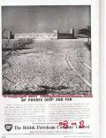 British Petroleum Company 1955 Vintage Ad Oil Shaikh Shakhbut Sultan