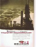 Beacon Petroleum Company 1955 Vintage Ad Beacongas Refining Process