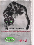 Tuboscope Company 1955 Vintage Ad Black Cat Green Eyes Seeing Unseen