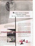 J F Pritchard Company 1955 Vintage Ad Oil Gas Tower Double Panels