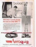 Aeroquip Corp 1955 Vintage Ad Oil Well Drilling IEDCO Oilfield