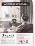 Anchor Petroleum Company 1955 Vintage Ad Oil Gas Tulsa Ok Market