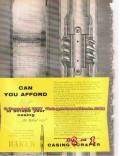 Baker Oil Tools Inc 1955 Vintage Ad Oilfield Casing Scraper Roto Vert