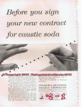 columbia-southern chemical 1955 caustic soda petrochemical vintage ad