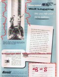 National Lead Company 1955 Vintage Ad Oil Baroid Well Logging Bottom
