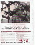 International Nickel Company 1955 Vintage Ad Valves Hastelloy Alloy B