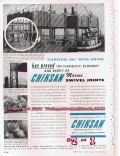 Chiksan Company 1955 Vintage Ad Oil Marine Swivel Joints Proved Safety