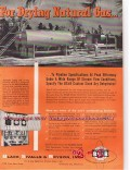 Black Sivalls Bryson Inc 1955 Vintage Ad Oil Drying Natural Gas