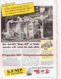 C M Kemp Mfg Company 1955 Vintage Ad Sun Oil Sunoco Refinery Magic