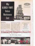 Aldrich Pump Company 1955 Vintage Ad Gas Oil Field Well Petroleum