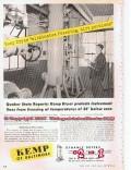 C M Kemp Mfg Company 1955 Vintage Ad Oil Dryer Eliminates Freezing