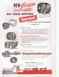 Century Electric Company 1955 Vintage Ad Oil Field Motors Weather Gard