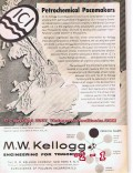 M W Kellogg Company 1955 Vintage Ad Oil Petrochemical Pacemakers