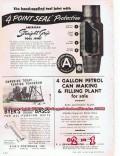 aero design and engineering 1955 commander c-560-a airplane vintage ad