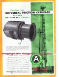 American Iron Machine Works 1955 Vintage Ad Oil Cabot Shops Catheads