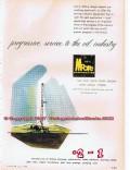 Lee C Moore Corp 1955 Vintage Ad Oilfield Industry Progressive Service
