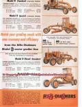 allis-chalmers 1955 oil field model d grader tractor vintage ad